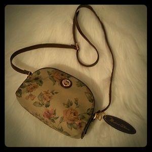 Michael Stevens Vintage Floral Crossbody Bag